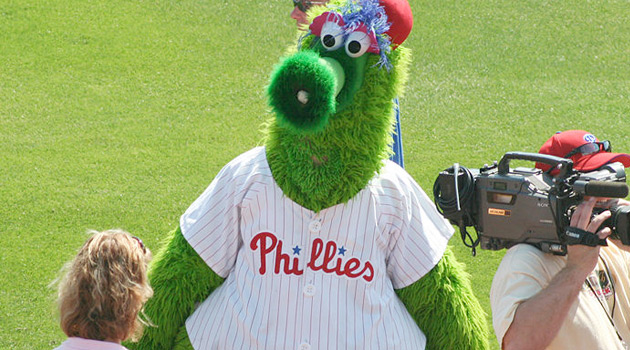 phillies phanatic. Phillie Phanatic
